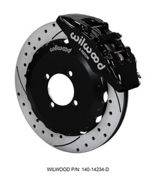 Wilwood Black Forged Dynapro 6 Piston BBK for ND 2016 Miata - Front Drilled Rotor