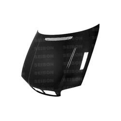 Seibon OE-Style Carbon Fiber Hood - 00-02 BMW 3-Series E46 Coupe