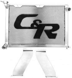 C&R Racing - Miata Radiator 90-97 1.6L &1.8L Single Pass