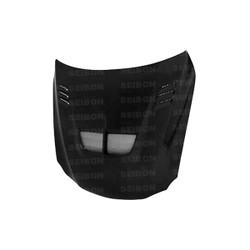 Seibon TS-Style Carbon Fiber Hood - 06-12 Lexus IS250/350 Incl. Convertible
