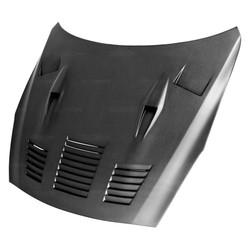 Seibon GTII-Style Dry Carbon Fiber Hood - 09-15 Nissan GTR R35