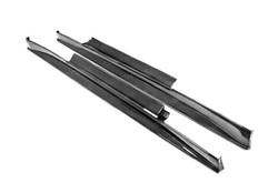 Seibon VE Style Carbon Fiber Side Skirts (pair) - 09-12 Nissan GTR R35