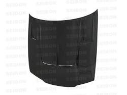 Seibon TT-Style Carbon Fiber Hood - 90-94 Nissan R32