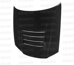Seibon DS-Style Carbon Fiber Hood - 99-01 Nissan R34