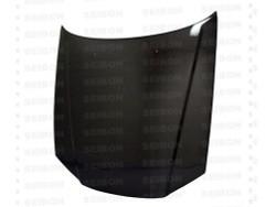Seibon OE-Style Carbon Fiber Hood - 99-01 Nissan R34