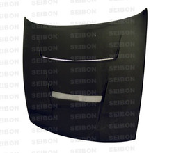 Seibon DV Style Carbon Fiber Hood - 89-94 Nissan Silvia S13