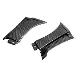 Seibon Carbon Fiber Fender Caps (pair) - 15-16 Subaru WRX /STI