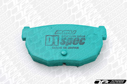 Project Mu D1 Spec Pads for 03-08 Nissan 350Z PDR209