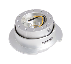 NRG Quick Release Kit Gen 2.5 - Silver/Silver Ring