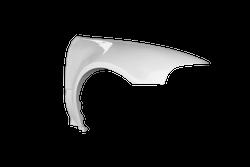 TFWorks Honda Civic EG +50mm Wide front fenders