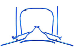 Cusco LM Roll Cage Dash Through 7 Points w/Harness Bar - 00-03 Honda S2000