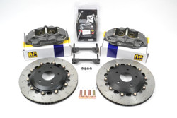 AP Racing Competition Rear Brake Kit by Essex for S550 2015+ Mustang