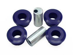 SuperPro Front Lower Control Arm Bushings - Inner Rear Position - High Perfomance (Double Offset) - 92-99 Mazda RX7