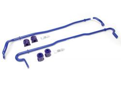 SuperPro Polyurethane Adjustable Sway Bar Kit (20mm Front/18mm Rear) - 2013+ Scion BRS / Subaru BRZ