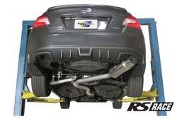 Greddy Revolution RS Race Exhaust Single Exit Catback 2015+ WRX/STI