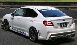 ChargeSpeed 2015-19 Subaru WRX 4Dr T3 Rear Bum FRP