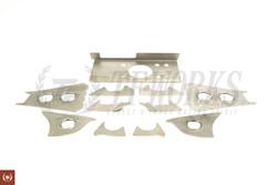 GKtech V2 S13 R32 Skyline Subframe Weld In Reinforcement Plates