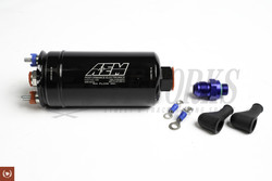 AEM 380lph High Flow In Line Fuel Pump