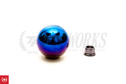 J's Racing Blue Titanium Ball Shift Knob - FK8 Type R