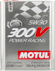 Motul 300V 5W30 Honda Civic Type R Oil Change Package (Track Use)