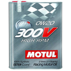 Motul 300V 0W-20 Honda Civic Type R Oil Change Package