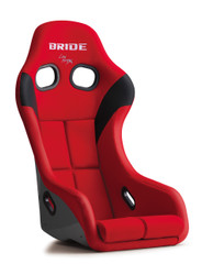 Bride Zeta IV Seat - Red / FRP - HANS Compatible