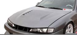 Duraflex - 1997-1998 Nissan 240SX S14 Duraflex D-1 Hood - 1 Piece