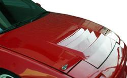 Duraflex - 1989-1994 Nissan 240SX S13 Duraflex D-1 Hood - 1 Piece