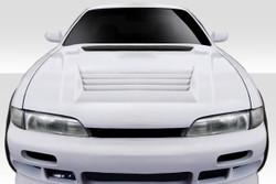 Duraflex - 1995-1996 Nissan 240SX S14 Duraflex D-Spec Hood - 1 Piece