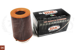 "BMC Twin Air Conical Air Filter with Polyurethane Top:  4"" inlet"