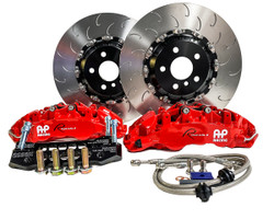 AP Racing Radi-CAL Road Front Brake Kit by Essex - Tesla Model 3