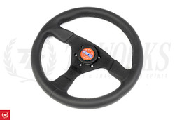 Sparco R383 Champion 330mm Steering Wheel Perforated Leather