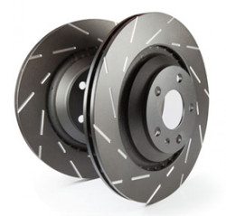 EBC USR Slotted Rotor - Nissan 350Z w/Brembo Front (Pair)