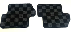 P2M - S13 1989-94 240SX REAR RACE FLOOR MATS : DARK GREY