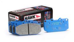 Hawk Blue 9012 Race Front Brake Pads - Nissan 240sx S13 S14