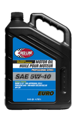 Red Line Professional Series Euro 5W40 Motor Oil - 5 Quart