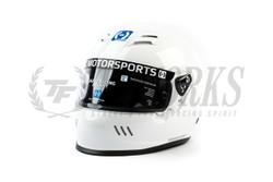 HJC Motorsports H10 Helmet - White SA2020
