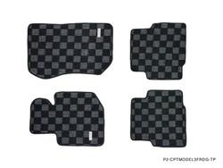 P2M BMW E36 3-SERIES 2D RACE FLOOR MATS : DARK GREY (FRONT/REAR)