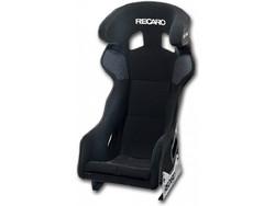 Recaro - Pro Racer - Black Velour / White Logo