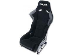 Recaro - Profi Seat - Black Velour / White Logo