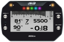AiM Sports - MXm LCD Dash Logger