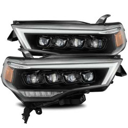 AlphaRex NOVA Headlights - Plank Style Alpha Black- Toyota 4Runner 2014/20
