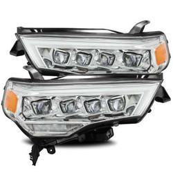 AlphaRex NOVA Headlights - Plank Style Chrome - Toyota 4Runner 2014/20
