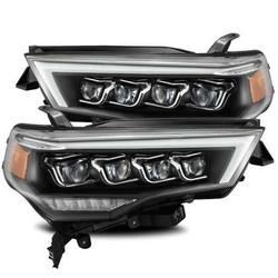 AlphaRex NOVA Headlights - Plank Style Black - Toyota 4Runner 2014/20