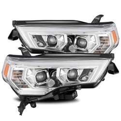 AlphaRex Pro-Series Headlights - Plank Style Chrome - Toyota 4Runner 2014/20
