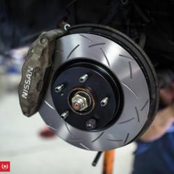 *SUMITOMO CALIPERS* TF BNR32 Skyline GTR Track Brake Package - DBA / G-Loc / Goodridge / Motul