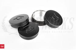 Titan-7 Wheels Center Caps - Set