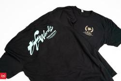 TF-Works Splash Shirt - Black & Mint Green / Black & Gold