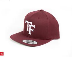TF-Works Flatbill SOX Logo Hat - Maroon