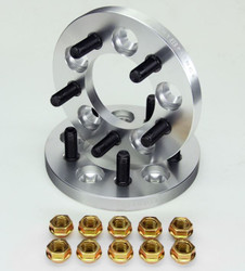 Eight Prince - 5x114.3 12x1.25 15mm Wheel Spacers